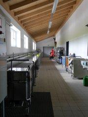 Gerätehaus Pfaffing - Schlauchwaschanlage